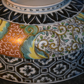 Very Large Imari Bowl - Edo? - Asian