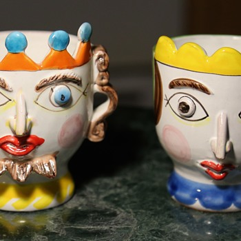 Desimone King and Queen - Pottery