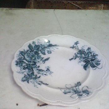 1930 original england hand made & painted plates