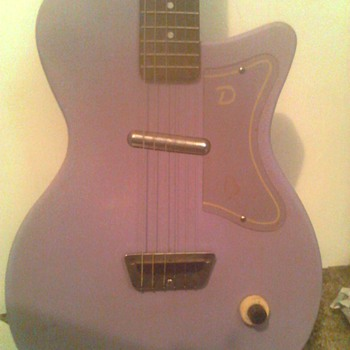 just came across a Danelectro from The 50s - Guitars