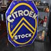 citroen stock dealership porcelain sign