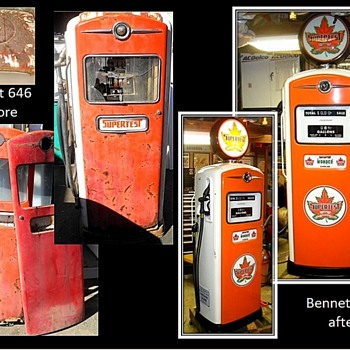 Part three of some of my restorations of gas pumps - Petroliana