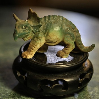 Ceramic Triceratops - Figurines