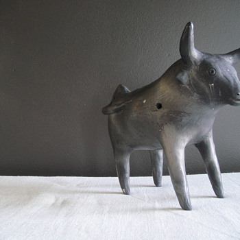 What is this Bull Statue? - Pottery