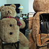 Williams Electric Camera Co. Bulk Film Portrait Camera (In custom 1940's-50's Teddy Bear)