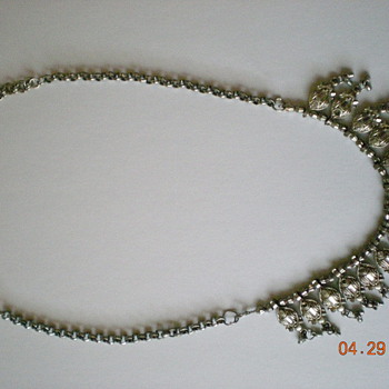 Necklaces, Earrings, Broches. and Belt Buckle