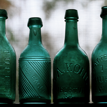 ~~~Old Pontiled Soda Bottles~~~ - Bottles
