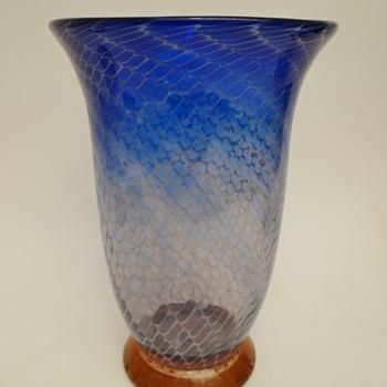 """Ernst Steinwald (or Wilhelm Kralik) """"Merletto"""" - Art Glass"""