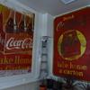 5x8' 1940 Coca-Cola 3-panel tin finally hung-up!!