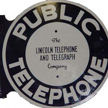Lincoln Telepone and Telegraph Public Telephone - Telephones