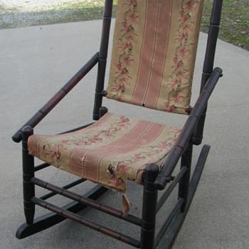 Antique Rocker - Furniture