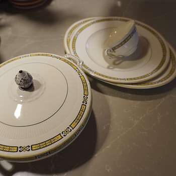 """Myott Sons, and Co., Pattern  """"The Delamere"""" Pattern number 1731, 1901-1921 - China and Dinnerware"""