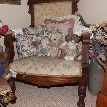Victorian Eastlake parlor chair