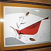 Charles Harper Cardinal Serigraph