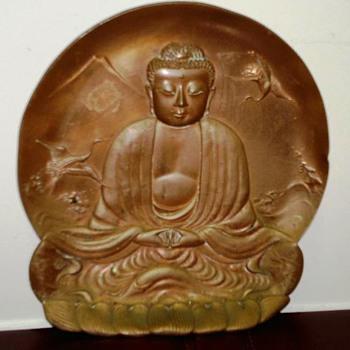 Bronze Buddah Tray? - Asian