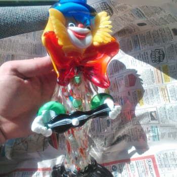 Murano Glass Clown!!