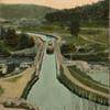 Vintage Postcard of the Delaware and Hudson Locks