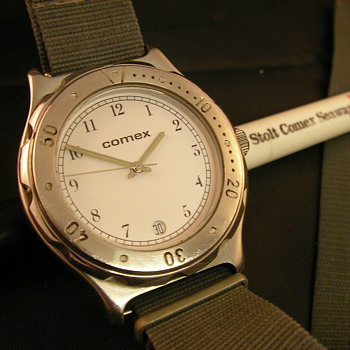 Late 70s/Early 80s COMEX Promotional Diver's Watch
