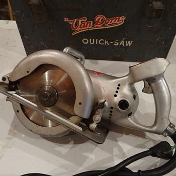 "1948 Van Dorn 7"" Quick saw  - Tools and Hardware"