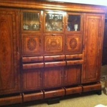 China cabinet from the 60's