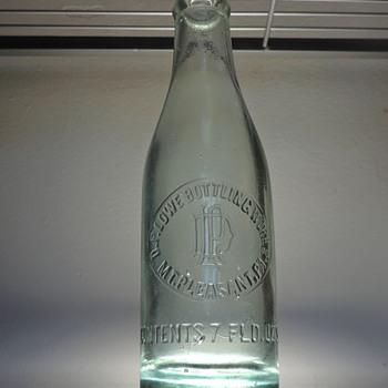 D.P. Lowe Bottling Works Soda Bottle Mount Pleasant, Pennsylvania Embossed Antique D.O.C. Dominick O. Cunningham Glass - Bottles