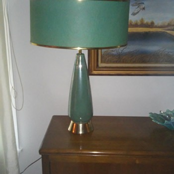 My best mid century find...in lamps - Lamps