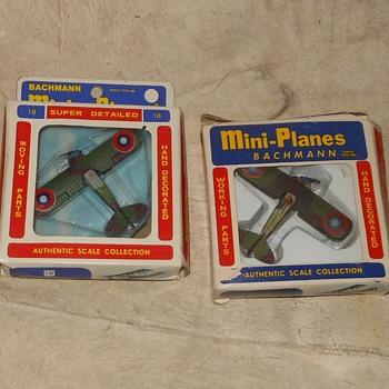 Bachmann Mini-Planes SPAD XIII Circa 1970 - Toys
