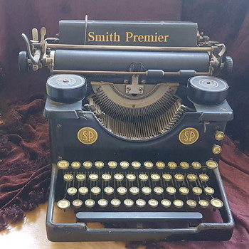 Old Smith Premier Typewriter - Office