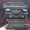 Old Smith Premier Typewriter