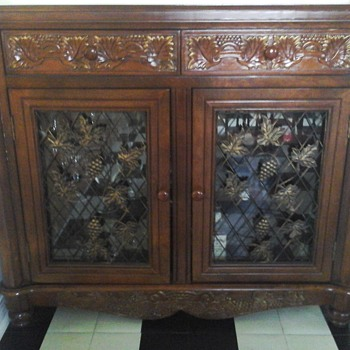French Wine cabinet  - Furniture