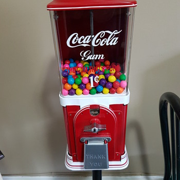 Victor Topper Half Cab Gumball Machine - Coin Operated