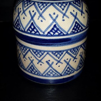 Small Lidded Jar - Pottery
