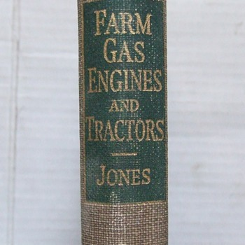 1938 Gas Farm Engines and Tractors book - Tractors