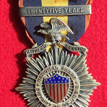 More DC National Guard Medals - Military and Wartime