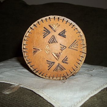 Native American Quill Box - Native American