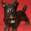 1930's Armor Bronze Scottish Terrier Bookend