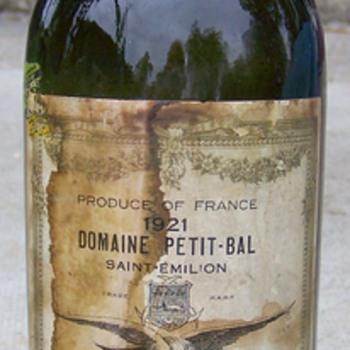 Old Saint EmelionWine Bottle Unopened
