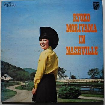 Ryoko Moriyama in Nashville LP - Music Memorabilia