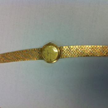 Vintage Baume & Mercier Gold Watch - Wristwatches