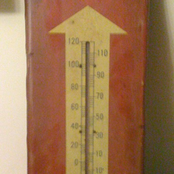 RC Cola Thermometer