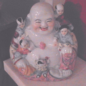 Vintage Fertility Buddha Porcelain... - Asian
