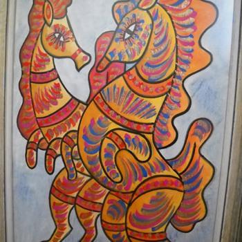 Jose Maria de Servin Painting - Animals