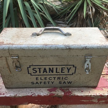 Stanley safety saw, ca 1950's(?) - Tools and Hardware