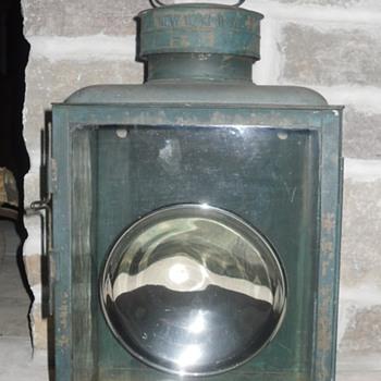 Dietz No.2 Railroad Station Box Lamp/Lantern - Railroadiana