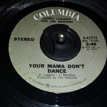 45 RPM SINGLE....#4 - Records