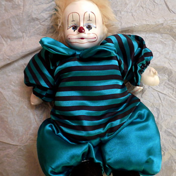 Mystery of the Adorable German Clown Doll - Dolls