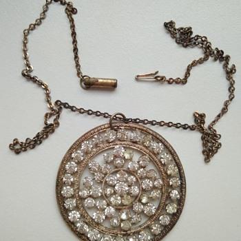 Vintage neklace - Costume Jewelry