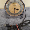 "old HAMMOND ""POLO"" electric alarm clock (SPIN TO START #5)"