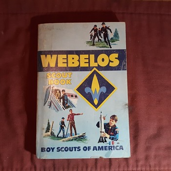 Saturday Evening Scout Post Webelos Handbook and Uniform - Sporting Goods