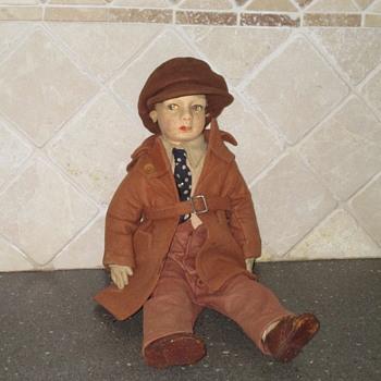 Vintage Doll - Male  - Dolls